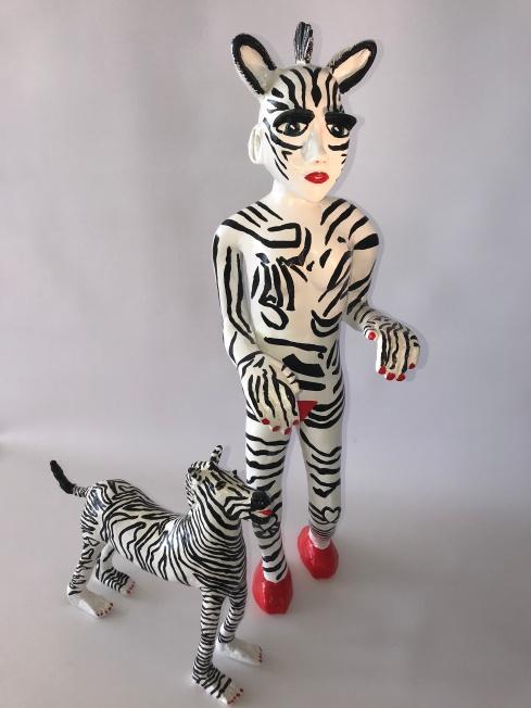 'Zebra, februari 2018, lengte 68 cm, 4,8/1,3 kg.