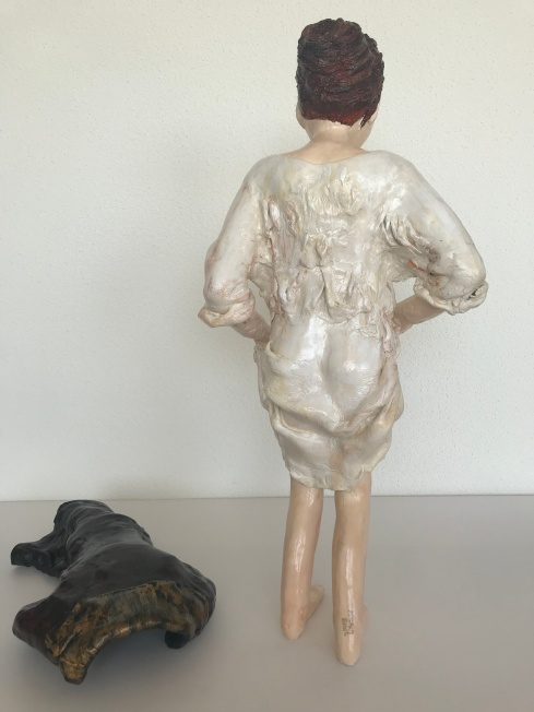 'Badende vrouw' maart 2019,, lengte 62 cm, 5,3 kg